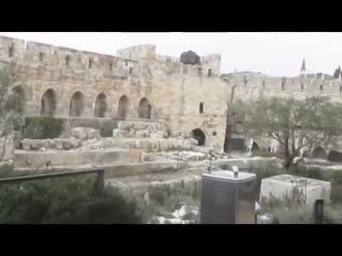 The story of the Tower of David, the Old City of Jerusalem. Tour Guide: Zahi Shaked