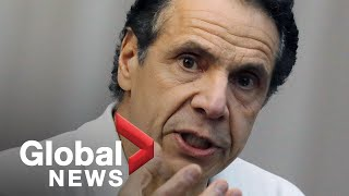 "Coronavirus outbreak: Cuomo says COVID-19 deaths in New York could be in the ""thousands"" 