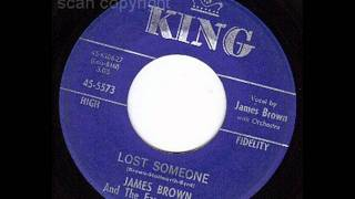 Watch James Brown Lost Someone video