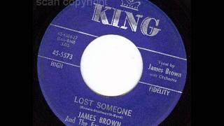 JAMES BROWN   Lost Someone   NOV