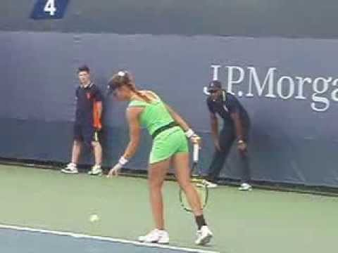 Beautiful Russian Tennis Player at US Open