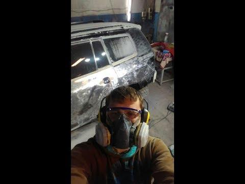 Кузовной ремонт Toyota Highlander..