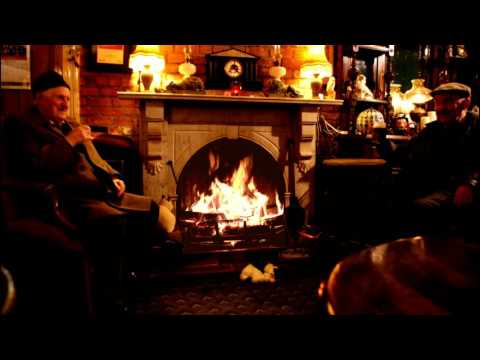 🍻The Old Man's Pub Fireplace to Slow Down, Relax and Sleep
