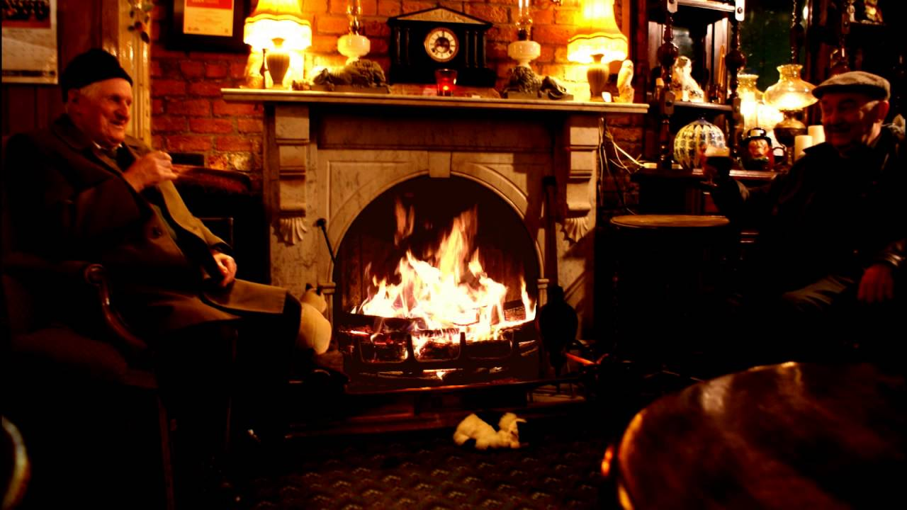 The Old Man's Pub Fireplace to Slow Down, Relax and Sleep ...
