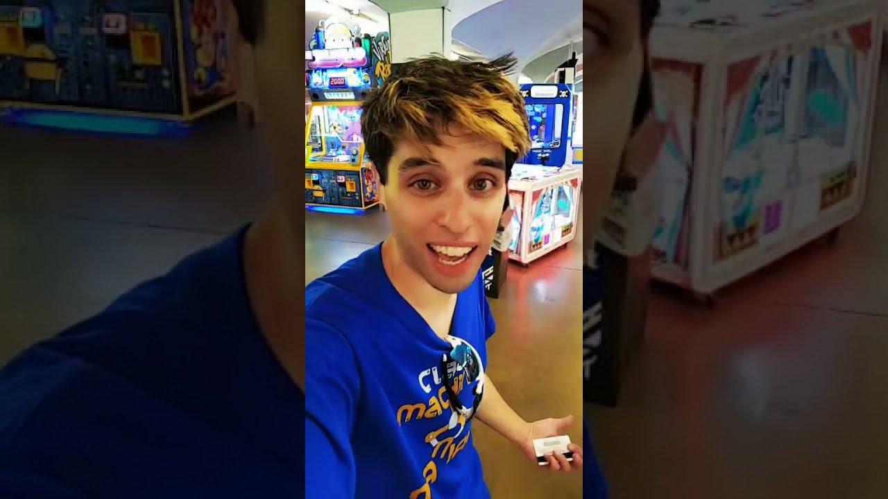 First Look at Cedar Point's HUGE Arcade! Full TikTok Live Stream - Arcade Matt