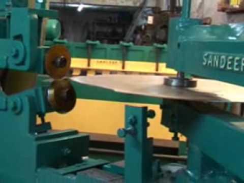 Quot Sandeep Quot Circle Cutting Machine Youtube