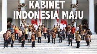 Resmi! Daftar Nama Menteri Kabinet Indonesia Maju Jokowi-Ma'ruf