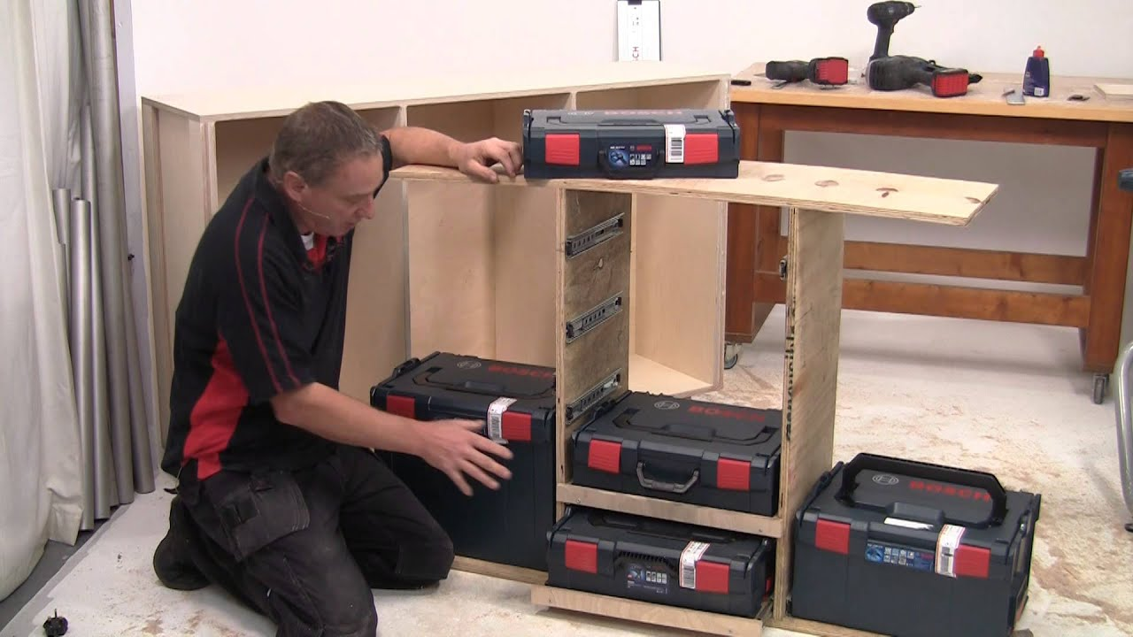 Build It With Bosch Project 6 Multi Bench L Boxx Storage
