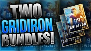 NEW GRIDIRON PACKS! 2x Gridiron Bundle Opening! Madden Mobile