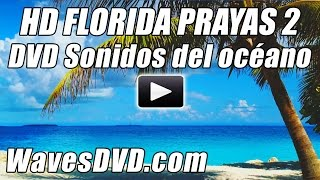 HD PLAYAS de FLORIDA 2 Ondas video sonidos relajantes de onda DVD mejor relajacion oceano playa Bl