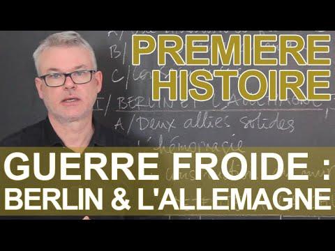 Berlin et l'Allemagne dans la Guerre froide - Histoire - 1ère - Les Bons Profs