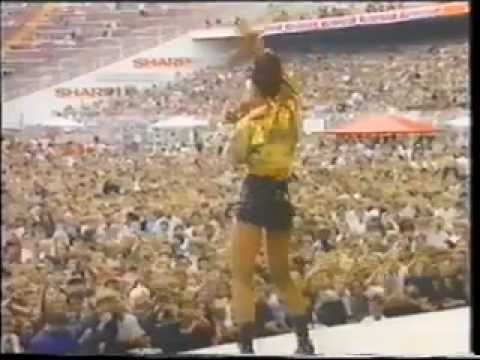 Rozalla Supporting Michael Jackson on Dangerous tour