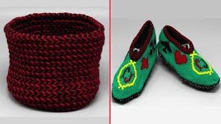 Узор для снуда спицами. Вязание узора. Узор спицами. Knitting scarf-tube.