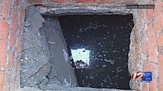 Researchers studying recently discovered underground structure in Newport