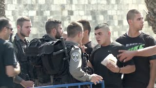 Israel bans Palestinians from Jerusalem's Old City after recent attacks