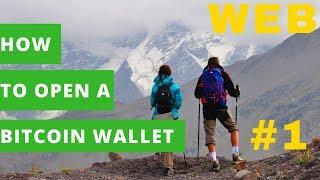 Как открыть биткоин кошелек 4 способа #1 /How to open a bitcoin wallet / बिटकॉइन वॉलेट कैसे खोलें