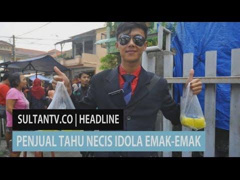 Hasil gambar untuk Seorang penjual tahu keliling di Bogor jadi idola 'emak-emak' lantaran penampilannya seperti pegawai kantoran. tribunwow