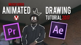 HOW TO Draw/Scribble Music Video effect(No After Effects Needed!)😱