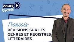 📚 Les genres et registres littéraires - Cours de Français 3ème 📚