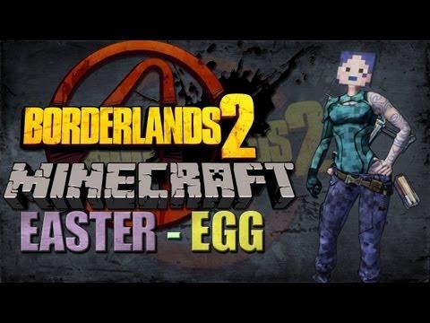 BORDERLANDS 2 | Minecraft Easter Egg Tutorial!