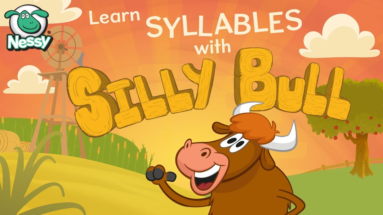 Silly Bull   Syllables   Learn Syllable Division