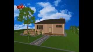 видео Дом с бассейном из клееного бруса в современном стиле: спа, баня, хамам