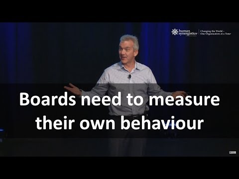 Rob Murray - Boards Need To Measure Their Own Culture & Behaviour