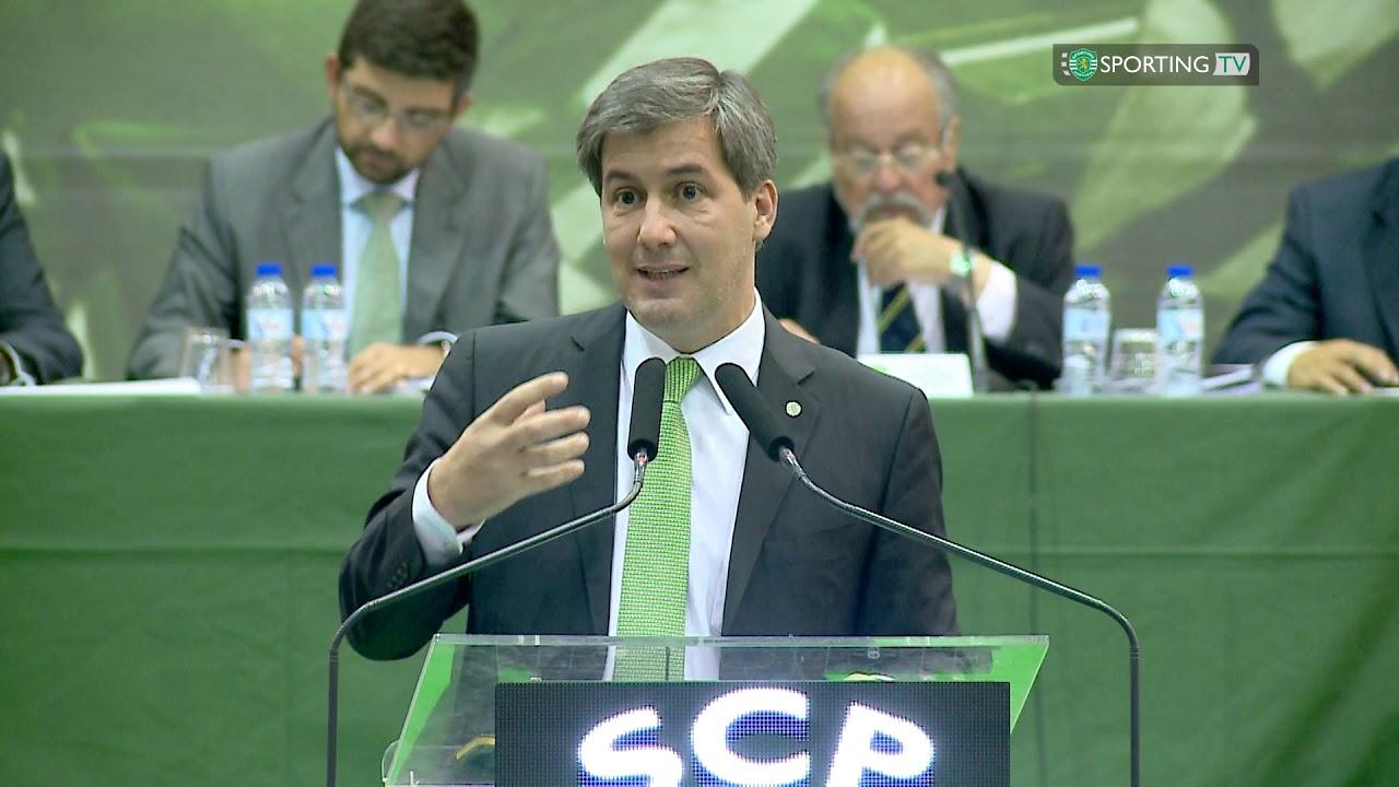 b7035c7d3c22 Discurso do Presidente Bruno de Carvalho na Assembleia Geral do Sporting  Clube de Portugal