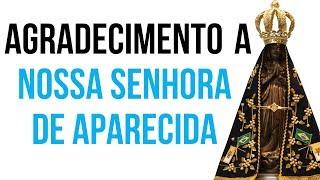 ORAÇÃO DE AGRADECIMENTO NOSSA SENHORA DE APARECIDA