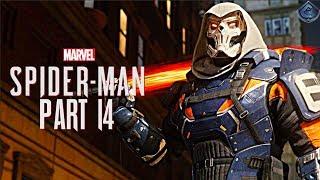 Spider-Man PS4 Walkthrough Part 14 - TASKMASTER BOSS FIGHT!