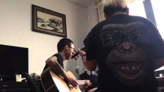 Sau Tất Cả(live) - Tùng Acoustic ft Trường Lê