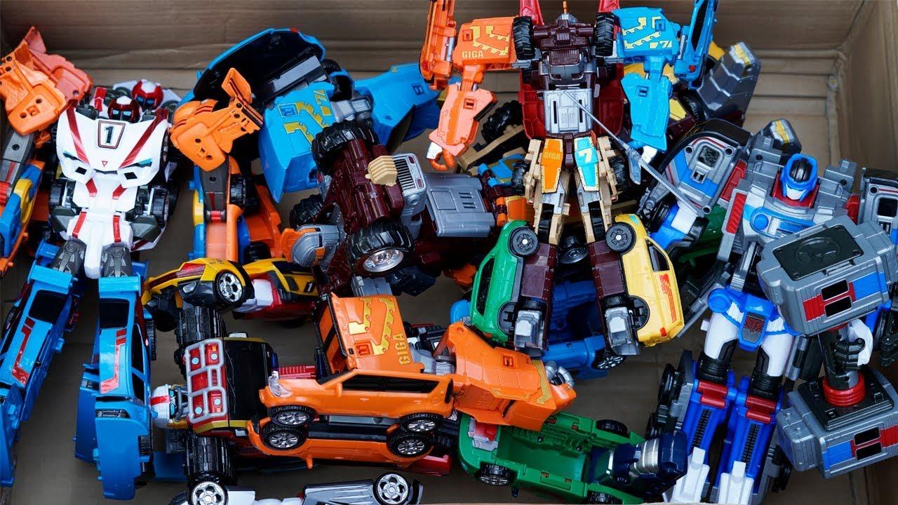 TOBOT GIGA SEVEN Special Marathon Transformers Biner Robot Aventure Athlon Magma Mainan Car Toys