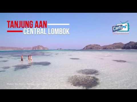 PANTAI TANJUNG AAN | Lombok Fun Vacation 2016 - CanFly Adv 2016