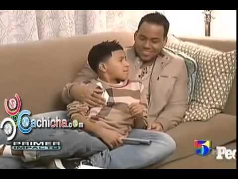 Romeo de aventura presenta su hijo