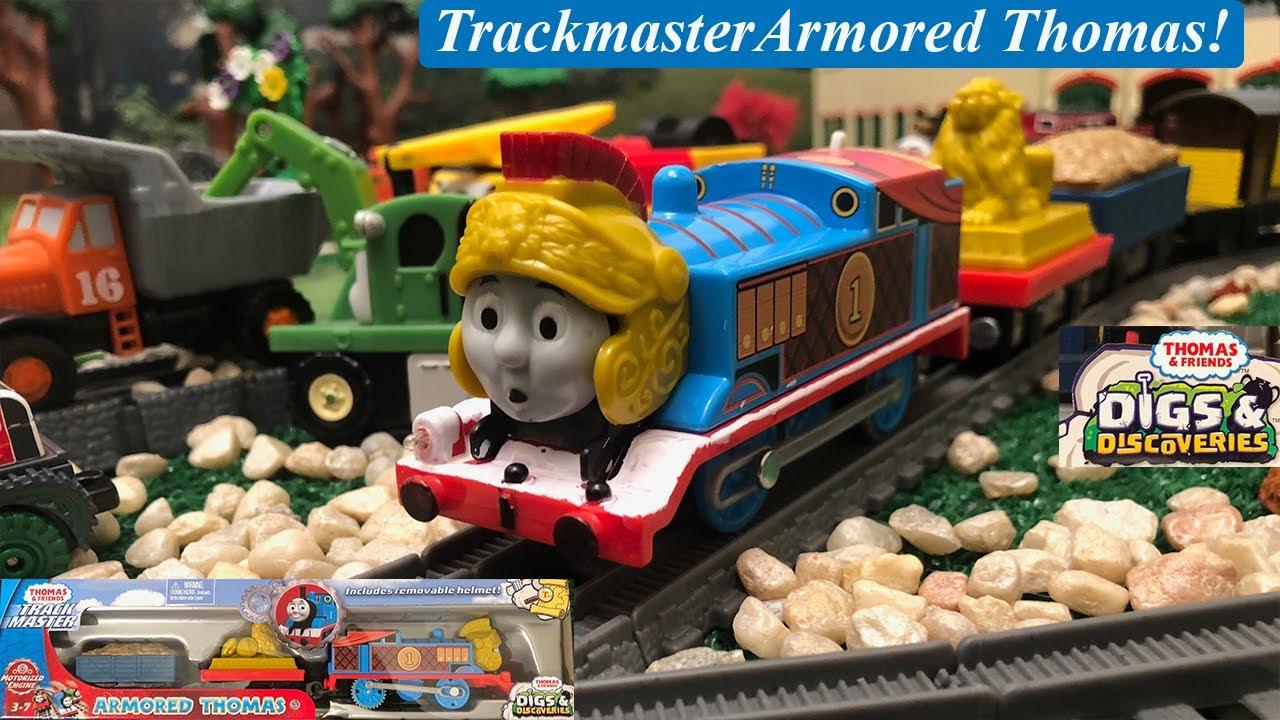 Armored Thomas Thomas /& Friends Trackmaster Motorised Toy Train Engine