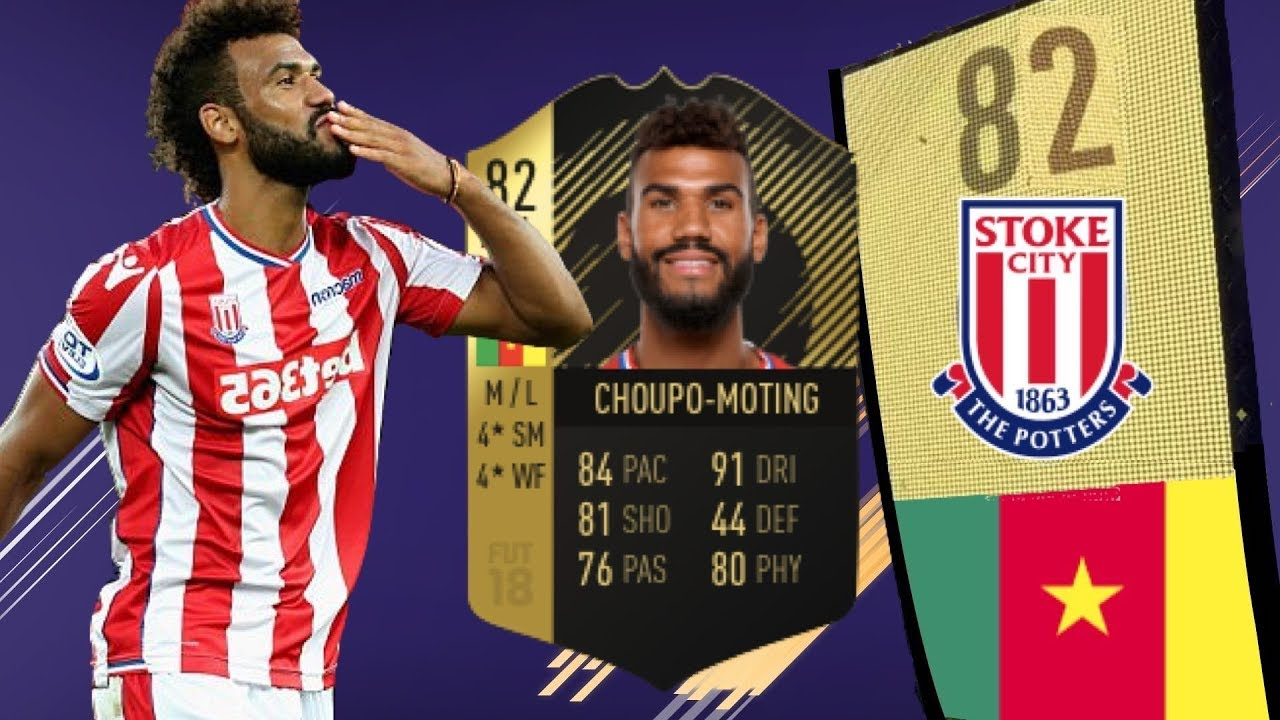 FIFA 18 IF CHOUPO-MOTING (82) REVIEW | FIFA 18 Ultimate Team - Player Goals  and Highlights - YouTube