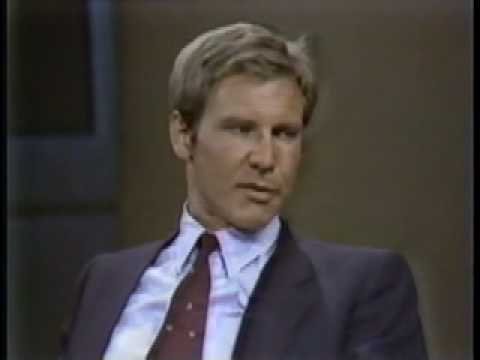 Harrison Ford (1982 interview on Letterman) - He really didn't like promoting movies.