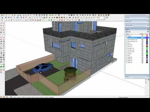 Tip to export from Sketchup 3D to AutoCAD 2D