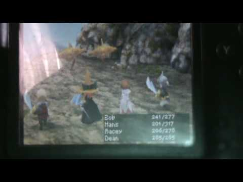 Final Fantasy 3 - Where to find bahamut and desch (the dragon in dragon's peak)