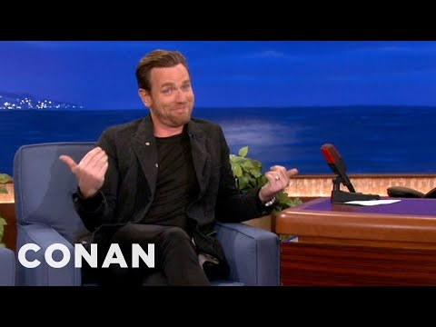 Ewan McGregor: Louis C.K. Can Put His Money Where His Mouth Is - CONAN on TBS