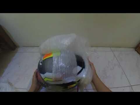 Buka Paket KYT NFR Hexagon - Yellow