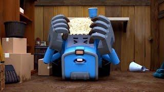 Робокар Поли - Рой и пожарная безопасность - Новые серии! Мультики