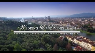 Florence Wedding Planning and Decoration in the Villa La Vedetta