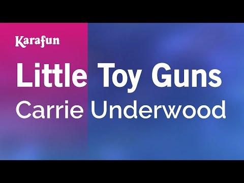Karaoke Little Toy Guns - Carrie Underwood *