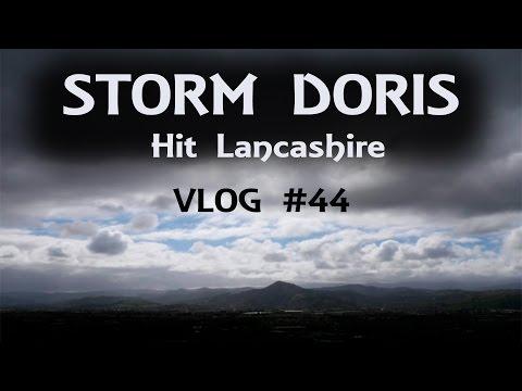 Storm Doris Hit Lancashire - Daily Vlog #44