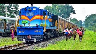 JOURNEY exploring traditional Indian rail route || Metre gauge trains