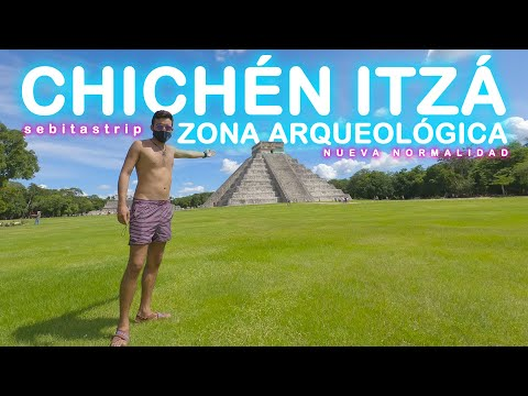 🌎🧜🏻♂️ VISITANDO ZONA ARQUEOLÓGICA DE CHICHÉN ITZÁ|NUEVA NORMALIDAD|CENOTE SELVA MAYA|VALLADOLID