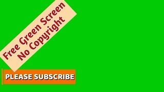 (No Copyright) Free HD Green Screen Footage | Free Lower Thirds Templates