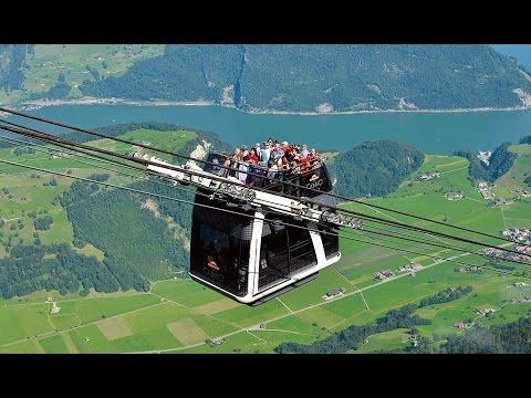 """Doppelmayr/Garaventa 60-ATW """"CabriO Kälti-Stanserhorn"""" Stans, Switzerland - English (2012)"""
