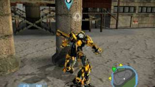 transformers the game GAMEPLAY massive destruction!!!